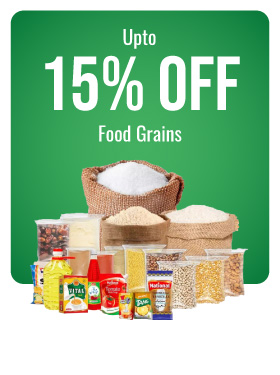 Food Grains. oil
